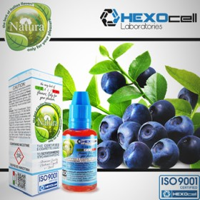 Natura Hexocell - Blueberry (Yaban mersini) 30ml